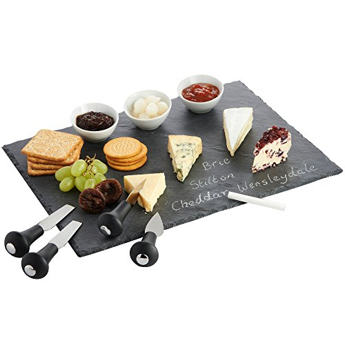 vonshef-cheese-tray-and-dipping-accessories-with-slate-tray-for-cheese-with-knives-and-dishes