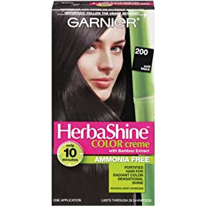 Garnier Herbashine Haircolor, 200 Soft Black