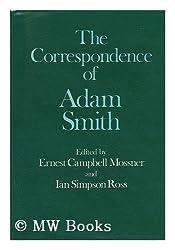 The Correspondence of Adam Smith (Glasgow Edition of the Works of Adam Smith) by Adam Smith (1977-08-11)