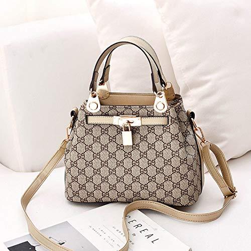 LFGCL Bags womenBucket Bag Umhängetasche mit großer Kapazität weiblich, Champagner