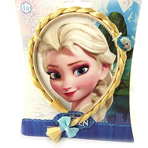 Headband 'Frozen - Reine Des Neiges'blond braids.