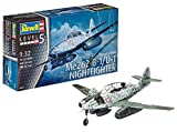 Revell- Messerschmitt Me262 B-1/U-1 Nightfighter, Kit de Modelo, Escala 1:32 (4995) (04995), 33,6 cm de Largo (