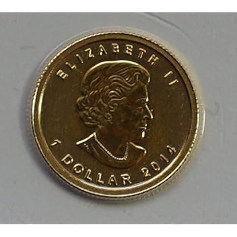 Canada/Canada 1/20oncia oro moneta 1$ Gold Dollar