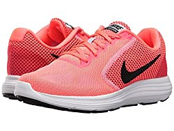 NIKE Damen WMNS Revolution 3 Traillaufschuhe, Pink (Hot Punch/Black/Aluminum/White 602), 40 EU