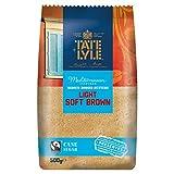 [ 500g ] TATE+LYLE hellbrauner feiner Rohrzucker / HELLER Zucker / LIGHT SOFT BROWN
