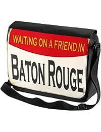 Bolso Bandolera Pasión Viajes Ciudad Baton Rouge USA impreso