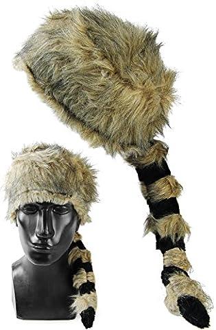 Seiler24 Alaska Jäger Hut Waschbärenmütze für Erwachsene Karneval