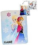 alles-meine.de GmbH 2 tlg. Set: Kuscheldecke / Fleecedecke & Kuschelkissen -  Disney Frozen - die..
