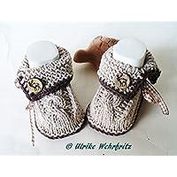 Babyschuhe Strickschuhe Trachtenschuhe
