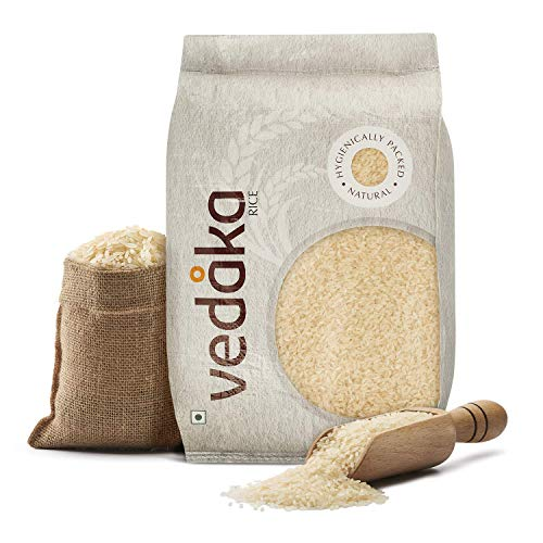 Amazon Brand - Vedaka Ponni Rice, Boiled, 10 kg