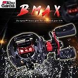 Familyhan Abu Garcia Fishing Reel Max3 Max3-L Baitcasting Water Drop Wheel 6.4:1 Gear Ratio 5KG Bearing Count Fishing Tool
