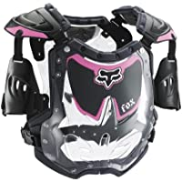 FOX R3 WOMENS ROOST DEFLECTOR BLACK/PINK 85-150+ LB/5'2-5'11 by Fox Racing