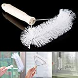#8: SHAFIRE™ Home Plastic Multifunction Dust Removal Window Screen Brush Cleaner Brush Tool (White)