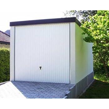 Fertiggarage doppelgarage  Fertiggarage Premium Auto Garage 2,58 m x 5,85 m x 2,35m Glattwand ...