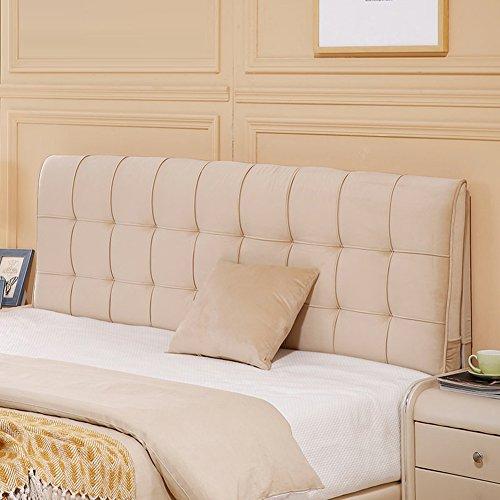 WENZHE Kopfteil Kissen Bett Rückenkissen Rückenlehne Für Bett Bettkeile Keilkissen Palettenpolster Betten Decken Softcase Doppelbett Zuhause Waschbar, 4 Farben