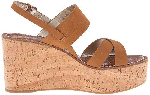 Sam Edelman Womens Destiny Platform Sandal Golden Caramel