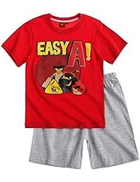 Angry Birds Garçon Pyjama court 2016 Collection - rouge