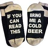 """Tonsee """"IF YOU CAN READ THIS"""" Kreative Briefe Stricken Socken Für Damen Männer,Keep Warm"""
