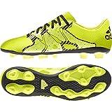 adidas Performance X 15.4 FG, Herren Fußballschuhe, Gelb (Solar Yellow/Solar Yellow/Core Black), 42 EU (8 Herren UK)