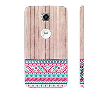 Motorola Moto X2 2nd Gen Woody 2 Aztec 13 designer mobile hard shell case by Enthopia