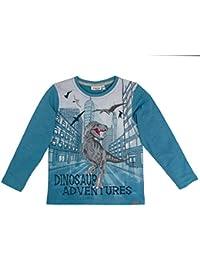 Salt & Pepper Longsleeve Wild Ones Photo, Camiseta de Manga Larga para Niños