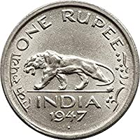 DAS COLLECTIONS-ONE Rupee 1947 Rare Coin of India
