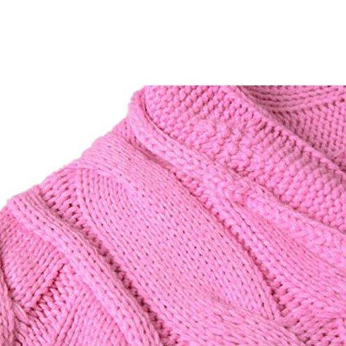 Newbestyle Femme Automne Hiver Cardigan Tricoté Manche Longue Décontracté Coloré Outwear Cardigan Pull Sweater Beige