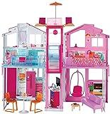 Barbie DLY32 Three-Storey Townhouse Playset