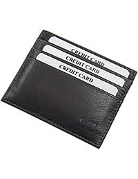 ba98284b29 Extra piatto porta carte di credito in pelle di bufalo MJ-Design-Germany in