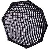 FotoQuantum LightPro Bol beaute/softboxe pliable 80cm avec grille pour FOTOQUANTUM / WALIMEX VC / BOWENS