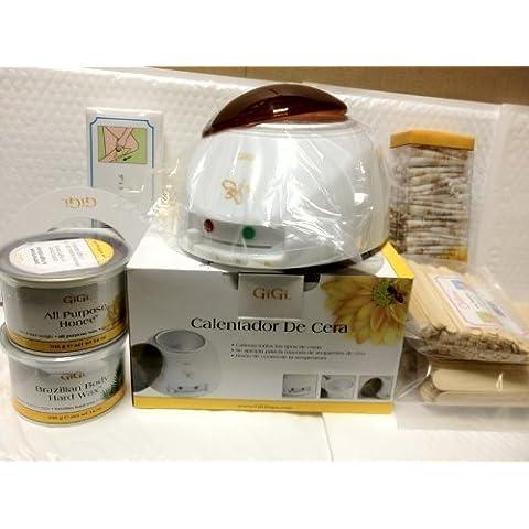 Gigi Bundle: Waxing Kit Machine/ Gigi Brazilian & Honee Wax,wax