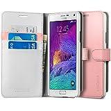 Spigen Schutzhülle Samsung Galaxy Note 4 WALLET S Hülle in azaleenpink [Azalea Pink - SGP11148]