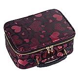 CAI&HONG-Beauty Makeup CCC Moda cosmetica impermeabile custodia impermeabile moda portatile lavaggio, B