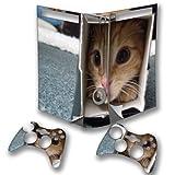 Kätzchen, Designfolie Sticker Skin Aufkleber Schutzfolie mit Farbenfrohem Design für XBOX 360 Fat