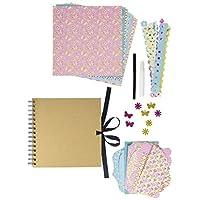 Grafix Scrapbook Kit Including Scrap Book and Accessories
