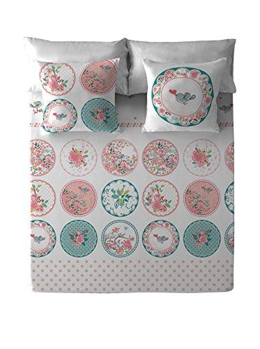 Costura Blois - Juego de sábanas para cama de 150 cm