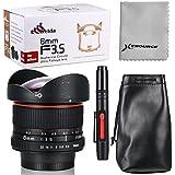 XCSOURCE® 8mm F3.5 HD Fisheye Objectif Pour Nikon D7100 D5300 D3200 D90 D60 D40 D5000 LF550