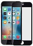 iPhone 7 Pellicola, Nakeey Vetro Temperato 3D Compatibile [Anti-Scratch] Protezione Film Tempered Glass Screen Protector per iPhone 7 4.7' Protezione Di Vetro Temperato,Nero immagine
