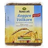 Alnatura Bio Roggen Vollkorn Brot, 500 g