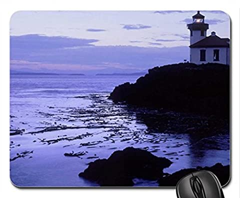 Lime Kiln Point State Park Lighthouse Mouse Pad, Mousepad (Lighthouses Mouse Pad)