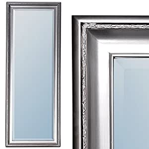 spiegel copia 140x50cm wandspiegel barock antik silber. Black Bedroom Furniture Sets. Home Design Ideas