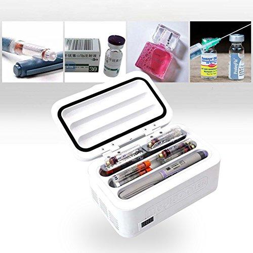 Cenblue Tragbare Diabetikertasche Insulin Kühlbox Kühltasche - Mini-Insulin-Kühlbox Insulin-Kühlbox Drug Reefer 2-8 °C