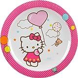 Unitedlabels 0119222 Teller - Melamin - Trudeau - Hello Kitty, 22 cm