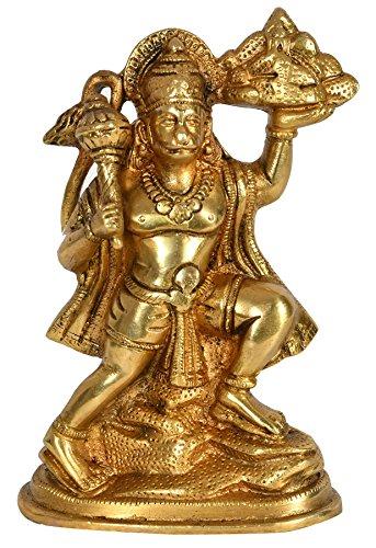 Exotic India Laiton Statue, Jaune