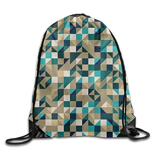 KAKICSA Unisex Gym Bag Blue Sand Drawstring Backpack Travel Bag Gym Outdoor Sports  Portable Drawstring Beam 701535f77de65