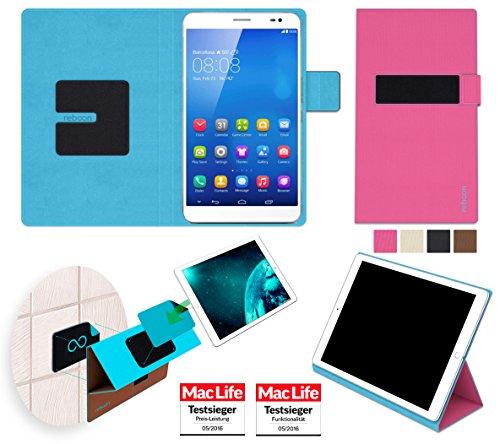 reboon Huawei MediaPad X1 7.0 Hülle Tasche Cover Case Bumper | in Pink | Testsieger