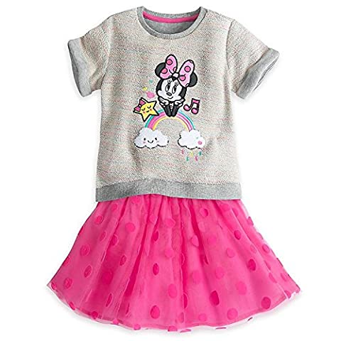 Disney Minnie Mouse Skirt Set for Girls Size 2
