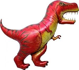 tyrannosaurus rex dinosaur supershape foil balloon amazon