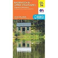 OS Explorer OL56 Badenoch & Strathspey (OS Explorer Map)