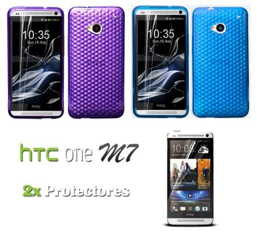 oferta-pack-de-2-fundas-gel-silicona-2x-protectores-de-pantalla-para-htc-one-m7-801e-de-color-azul-c